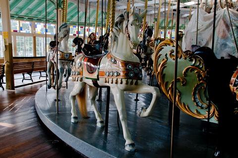 Carousel horses 6035
