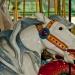 Carousel horse closeup 6122