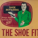 """If the shoes fits""……repair it!!"