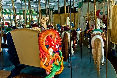 Carousel animals 6100
