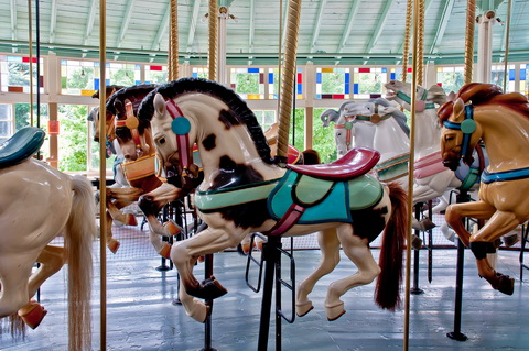 Carousel horse 6120