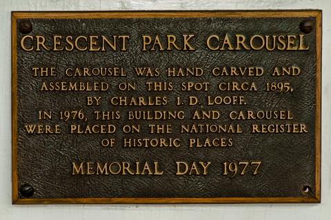 Carousel memorial day sign 6106