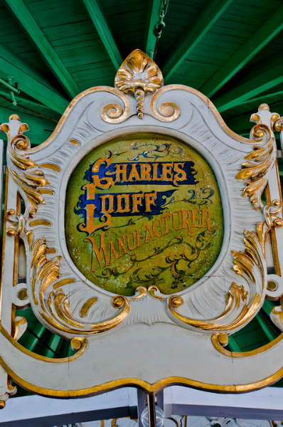 Carousel Looff sign 6129