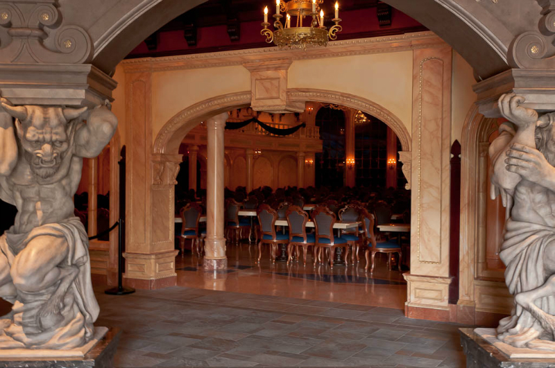 19-Beasts Castle dining room