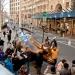 2886 City scape Manhatten bus tour