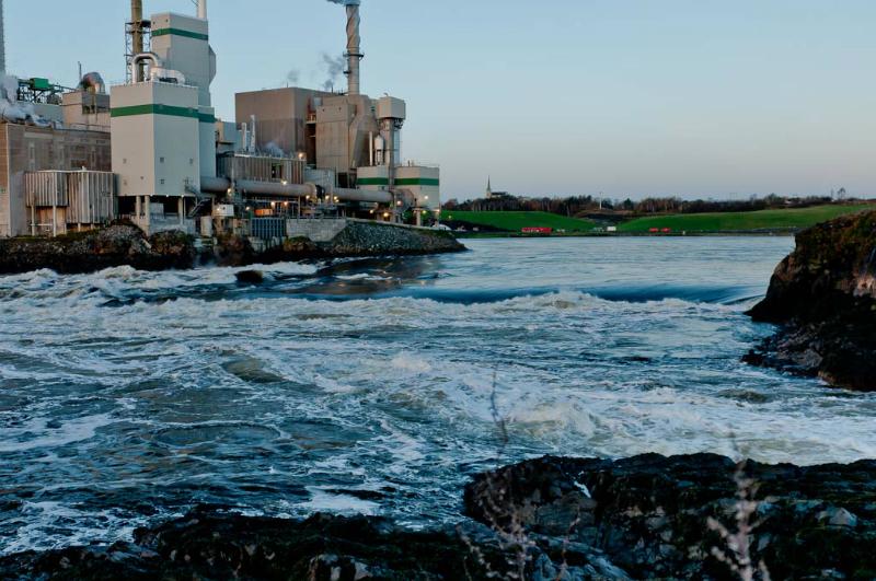 St Johns Reversing Falls Prior to tide change 6